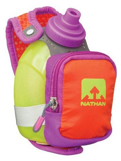 Nathan QuickShot Plus Handheld 300ml Purple Cactus Flower/Tangerine Tango